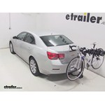 Swagman Titan Hitch Bike Rack Review - 2014 Chevrolet Malibu