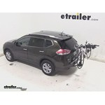 Swagman Titan Hitch Bike Rack Review - 2014 Nissan Rogue