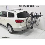 Swagman Titan Hitch Bike Rack Review - 2012 Buick Enclave
