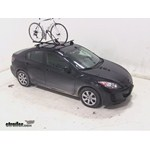 Swagman Upright Roof Mounted Bike Rack Review - 2013 Mazda 3