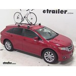 Swagman Upright Roof Mounted Bike Rack Review - 2013 Toyota Venza