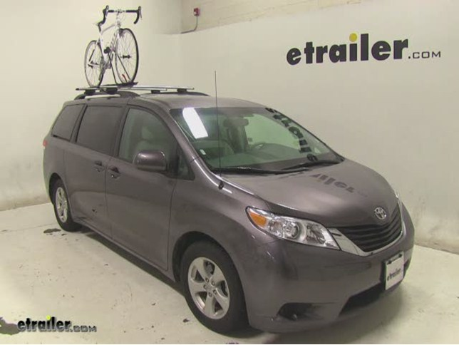 Swagman Upright Roof Mounted Bike Rack Review 2017 Toyota Sienna