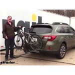 Swagman Hitch Bike Racks Review - 2015 Subaru Outback Wagon