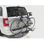 Swagman XTC2 Wheel Mount Hitch Bike Rack Review - 2012 Chrysler Town and Country