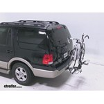 Swagman XTC2 Wheel Mount Hitch Bike Rack Review - 2005 Ford Expedition