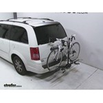 Swagman XTC2 Wheel Mount Hitch Bike Rack Review - 2010 Chrysler Town and Country