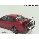 Swagman XTC2 Wheel Mount Hitch Bike Rack Review - 2011 Ford Focus