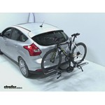Swagman XTC2 Wheel Mount Hitch Bike Rack Review - 2012 Ford Focus