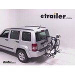Swagman XTC2 Wheel Mount Hitch Bike Rack Review - 2012 Jeep Liberty