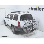 Swagman XTC2 Wheel Mount Hitch Bike Rack Review - 2012 Nissan Xterra