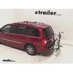 Swagman XTC2 Wheel Mount Hitch Bike Rack Review - 2013 Chrysler Town and Country