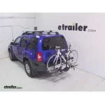 Swagman XTC2 Wheel Mount Hitch Bike Rack Review - 2013 Nissan Xterra
