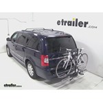 Swagman XTC2 Wheel Mount Hitch Bike Rack Review - 2014 Chrysler Town and Country