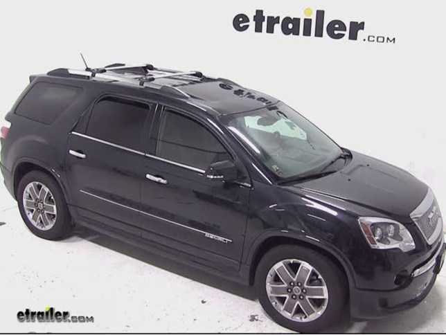 Nice Thule AeroBlade Edge Roof Rack Installation   2012 GMC Acadia Video |  Etrailer.com