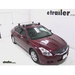 Thule AeroBlade Traverse Roof Rack Installation - 2010 Nissan Altima