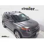 Thule AeroBlade Crossroad Roof Rack Installation - 2011 Ford Explorer