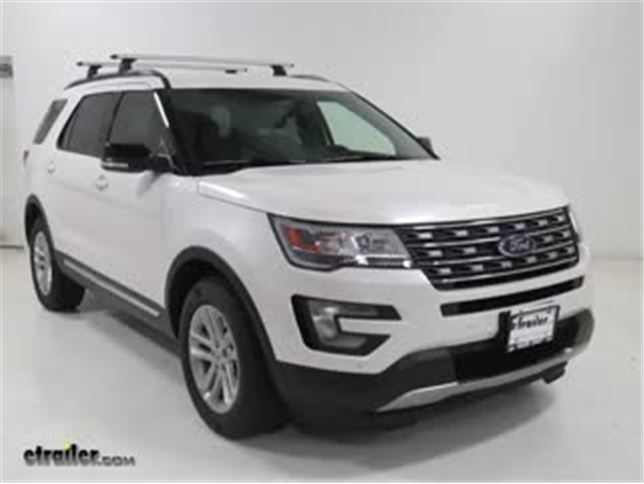 Thule roof rack review 2016 ford explorer video etrailer sciox Image collections