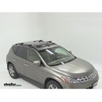 Thule AeroBlade Crossroad Roof Rack Installation - 2003 Nissan Murano