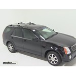 Thule AeroBlade Crossroad Roof Rack Installation - 2004 Cadillac SRX