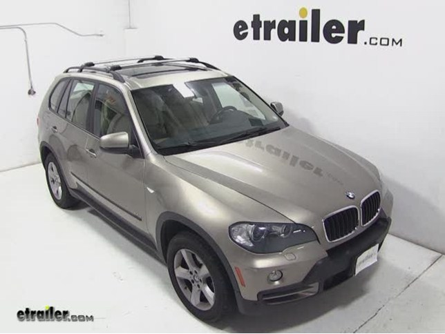 Thule AeroBlade Edge Roof Rack Installation   2008 BMW X5