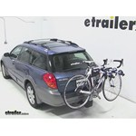 Thule Apex 4 Hitch Bike Rack Review - 2006 Subaru Outback Wagon