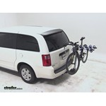Thule Apex 4 Hitch Bike Rack Review - 2010 Dodge Grand Caravan