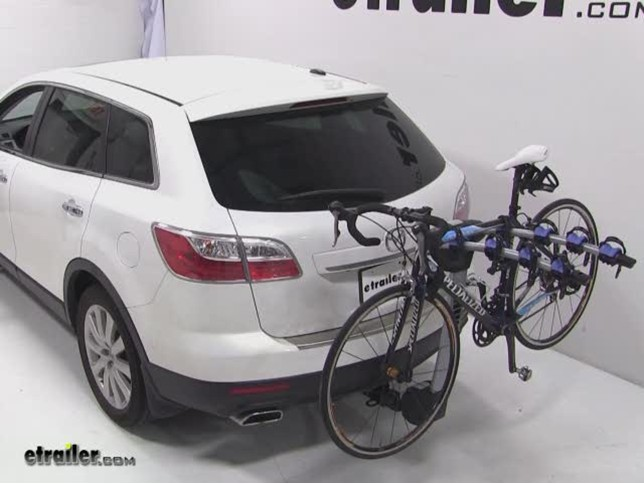 Thule Apex 4 Hitch Bike Rack Review 2010 Mazda Cx 9 Video Etrailer