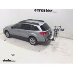 Thule Apex 4 Hitch Bike Rack Review - 2011 Subaru Outback Wagon