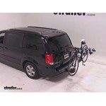 Thule Apex 4 Hitch Bike Rack Review - 2012 Dodge Grand Caravan