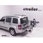 Thule Apex 4 Hitch Bike Rack Review - 2012 Jeep Liberty