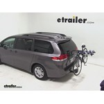 Thule Apex 4 Hitch Bike Rack Review - 2012 Toyota Sienna