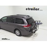 Thule Apex 4 Swing Hitch Bike Rack Review - 2012 Toyota Sienna