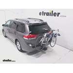 Thule Apex 4 Hitch Bike Rack Review - 2013 Toyota Sienna
