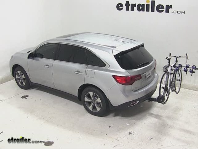 Thule Apex Hitch Bike Rack Review Acura MDX Video - Acura mdx bike rack