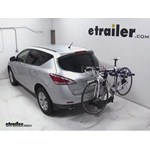 Thule Apex 4 Swing Hitch Bike Rack Review - 2013 Nissan Murano