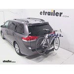 Thule Apex 4 Swing Hitch Bike Rack Review - 2013 Toyota Sienna