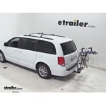 Thule Apex 4 Swing Hitch Bike Rack Review - 2014 Dodge Grand Cherokee