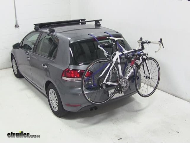 Volkswagen Golf Trunk Bike Rack