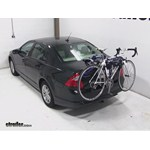 Thule Archway Trunk Mount Bike Rack Review - 2012 Ford Fusion