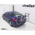 Thule Archway Trunk Mount Bike Rack Review - 2012 Honda Civic
