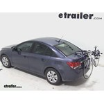 Thule Archway Trunk Mount Bike Rack Review - 2013 Chevrolet Cruze