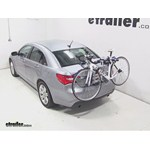 Thule Archway Trunk Mount Bike Rack Review - 2013 Chrysler 200