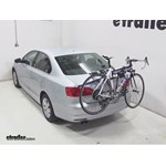 Thule Archway Trunk Mount Bike Rack Review - 2013 Volkswagen Jetta