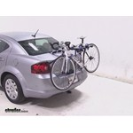 Thule Archway Trunk Mount Bike Rack Review - 2014 Dodge Avenger