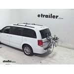Thule Archway Trunk Mount Bike Rack Review - 2014 Dodge Grand Caravan