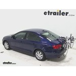 Thule Archway Trunk Mount Bike Rack Review - 2014 Volkswagen Jetta