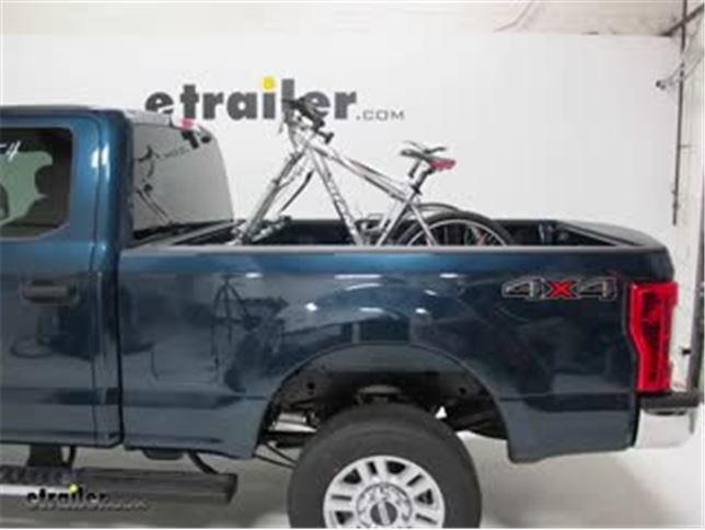 Thule Truck Bed Bike Racks Review  Ford F  Super Duty Video Etrailer Com