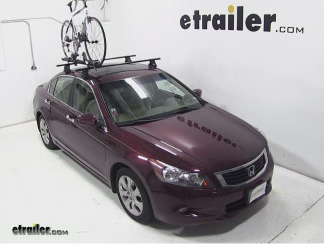 Today On Our 2010 Honda Accord, Weu0027ll Be Test Fitting The Thule Big Mouth  Roof Mounted Bike Rack, Part Number TH599XTR. With The Thule Square Bar Roof  Rack ...