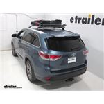 Thule Roof Basket Review - 2015 Toyota Highlander