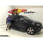 Video install thule compass kayak carrier 2014 jeep grand cherokee th890000